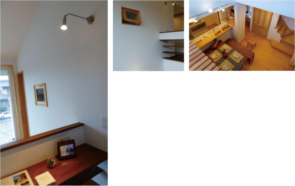 大開口サッシと広い吹き抜けで2階からでも家族と会話がとれる家