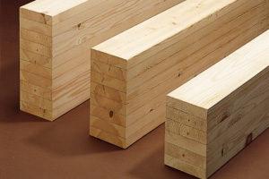構造部材として強靭な集成材を使用
