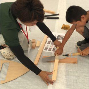 夏の木工教室