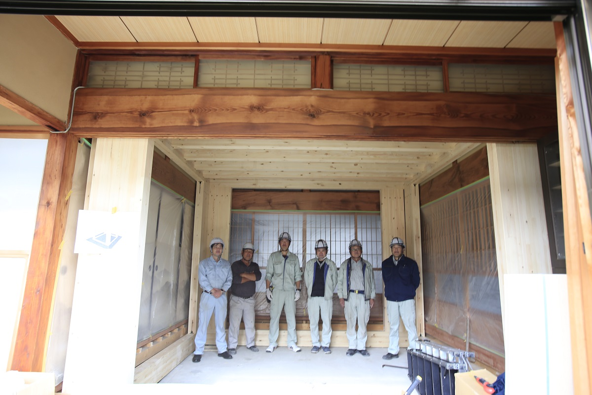 既存の家で建てるSE構法の耐震シェルター