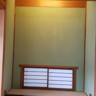 じゅらく壁塗り替え